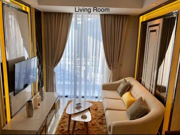 Apartemen Casa Grande 76m2 Fullfurnish Lux
