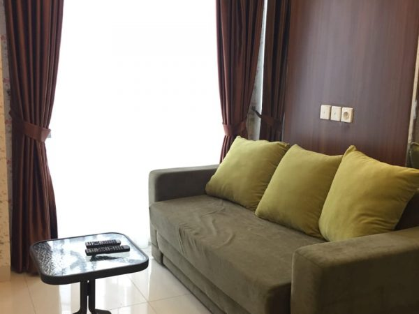 Apartemen The Mansion Bougenville Dukuh Golf 2BR 52m2 Disewakan