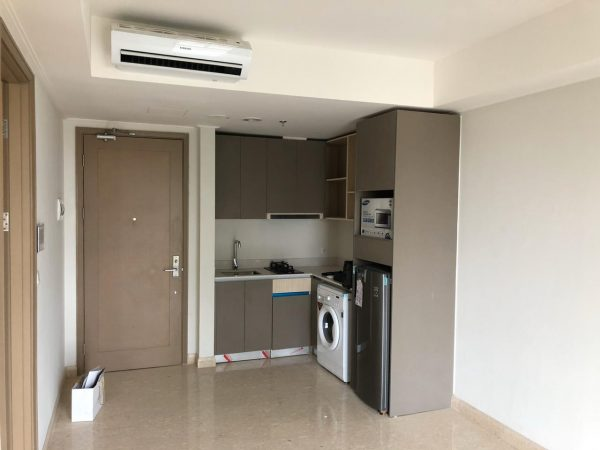 Apartemen Gold Coast PIK 1BR 51m2 Semifurnish Disewakan
