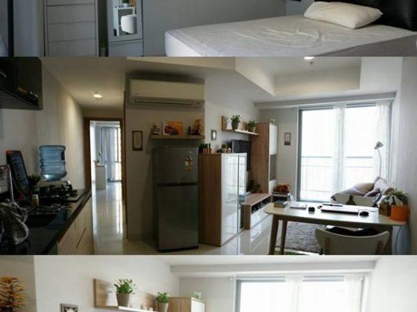 Apartemen The Mansion Jasmine 2BR 62m2 Fullfurnish Disewakan