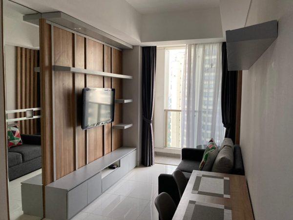 Apartemen Taman Anggrek Residences 2 BR Hoek Fullfurnish Disewakan