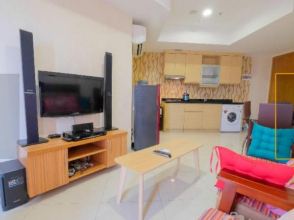 Apartemen The Mansion Jasmine 2 BR Fullfurnish