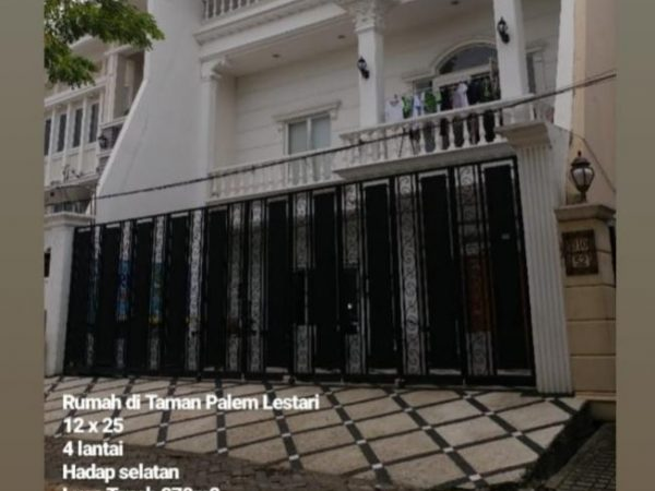 Rumah Taman Palem Lestari 278m2