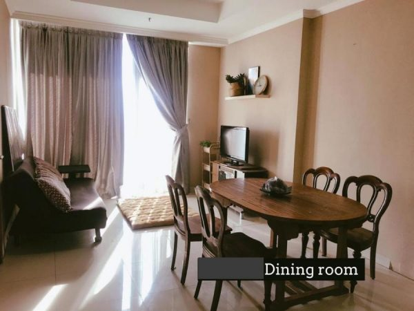 Ancol Mansion 1 BR Fullfurnish View Laut