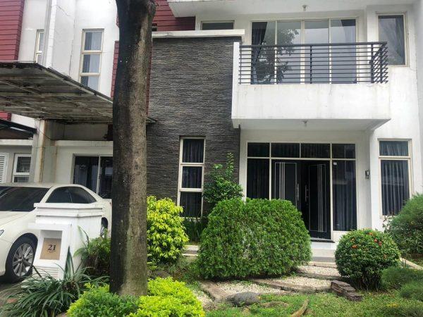 Rumah Puri Mansion 200m2 Full Furnish 2 Lantai