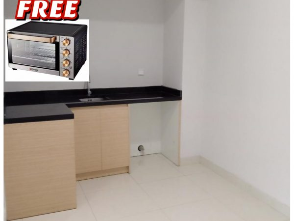 Apartemen The Mansion Jasmine 1 BR 57m2 Unfurnish
