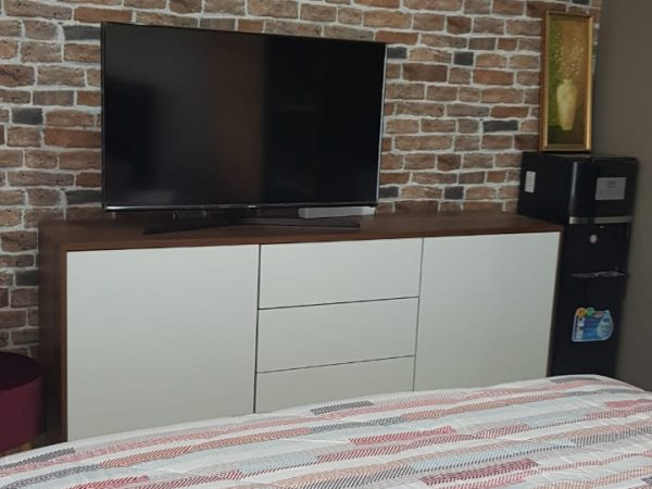 Apartemen Gold Coast PIK Studio 28m2 Fullfurnish Disewakan