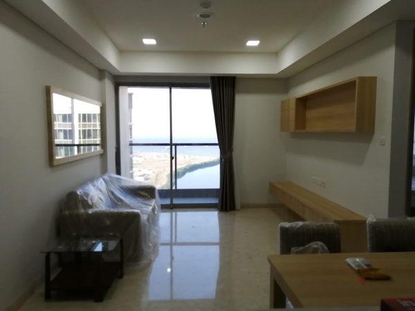 Apartemen Gold Coast 3 BR Fullfurnish Disewakan