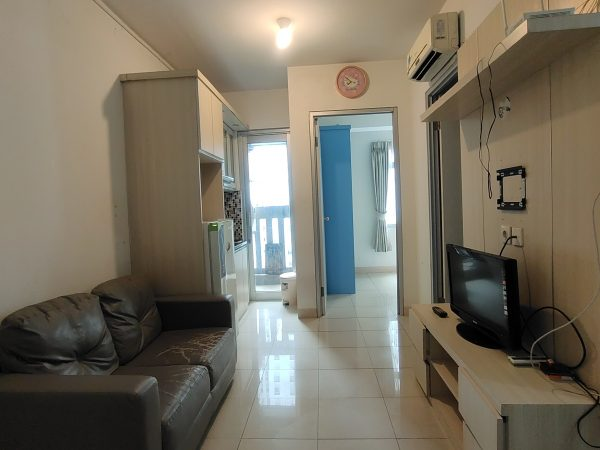Apartemen Green Bay 2 Bedroom Tahap 2 View Pool