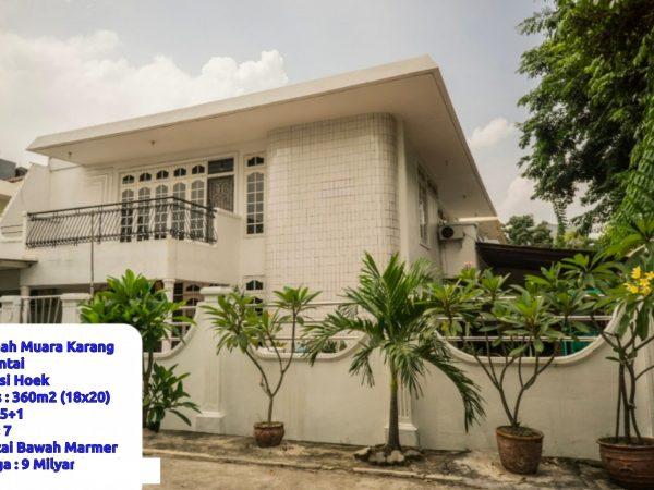 Rumah Muara Karang 360m2 RMJ128
