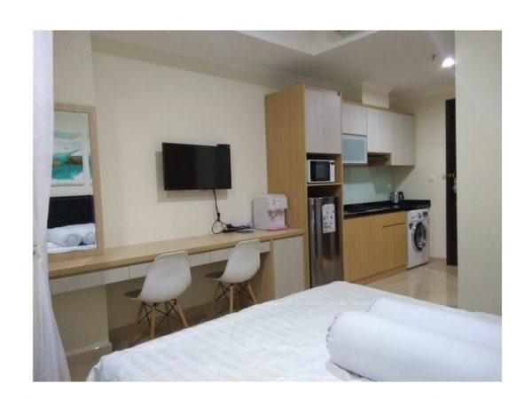 Disewakan Apartemen Menteng Park type Studio Full Furnish Bagus MP125