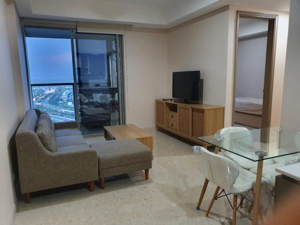 Apartemen Gold Coast 2 BR Fullfurnish Agljln07