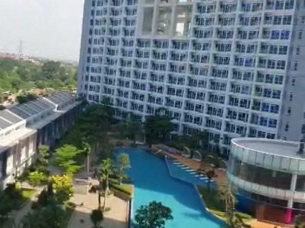 Jual Apartemen Puri Mansion tipe 2+1Br lantai rendah view pool VT140